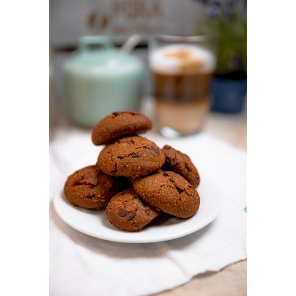 Wegańskie pieguski z kawałkami czekolady (bezglutenowe)