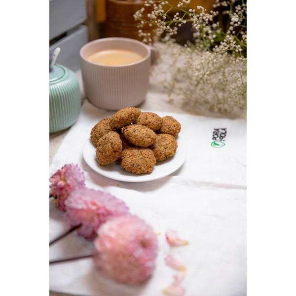 Kokosanki z siemieniem lnianym (bezglutenowe)