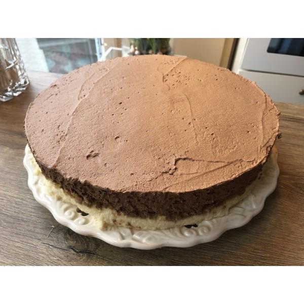 Sernik z musem czekoladowym z Bayleys'em 20 cm