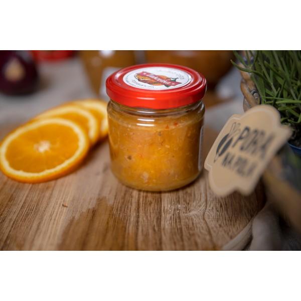 Słodko-ostra pomarańcza