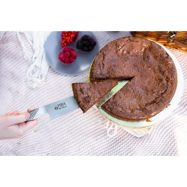 Brownie z białą czekoladą
