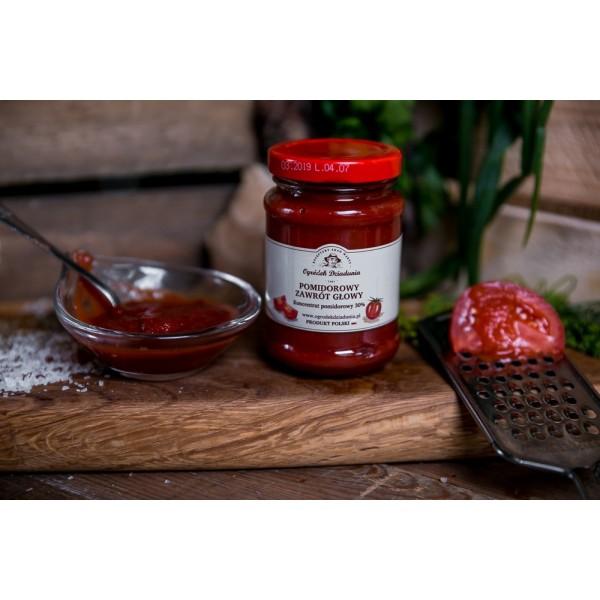 Pomidorowy zawrót głowy (koncentrat pomidorowy)