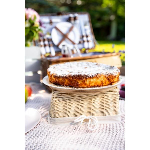 Ciasto migdałowe z ricottą