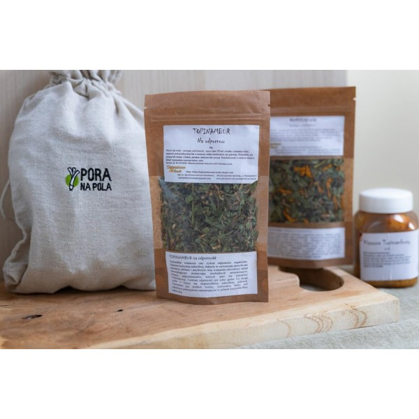 Herbata z topinamburu na odporność