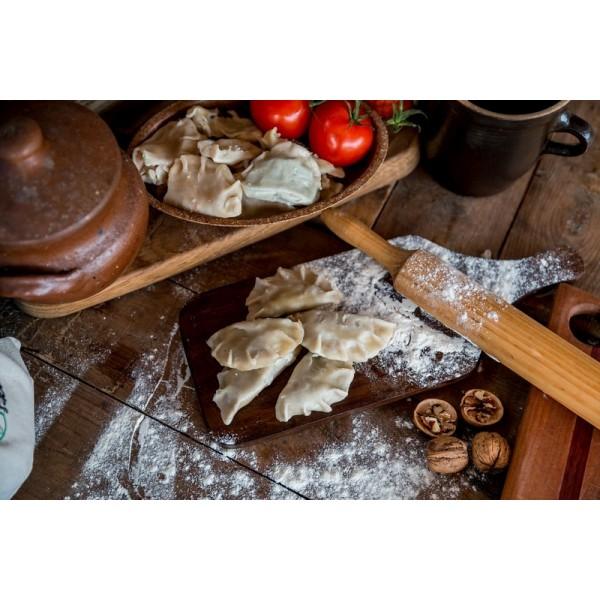 Pierogi orkiszowe burrito