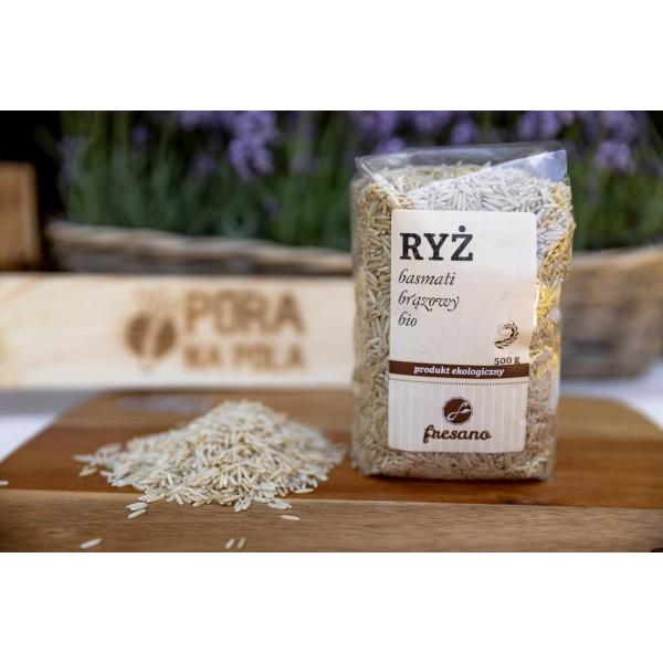 Ryż Basmati brązowy EKO