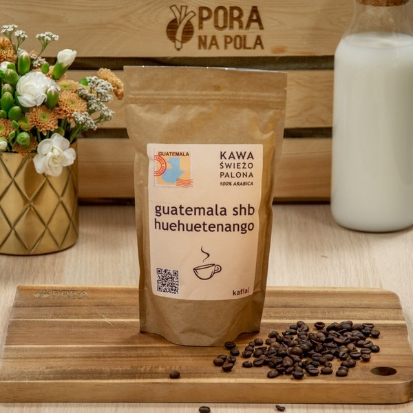 Kawa świeżo palona Guatemala SHB, ziarnista