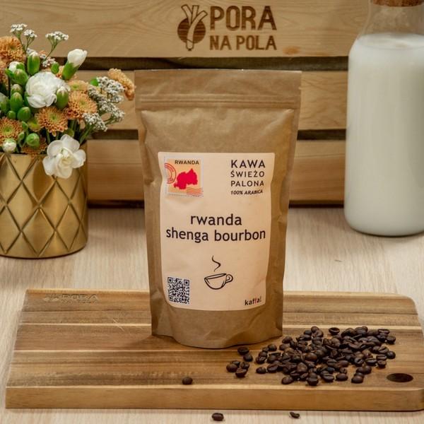 Kawa świeżo palona Rwanda, ziarnista