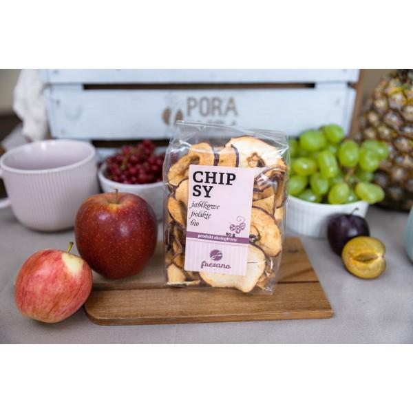 Chipsy jabłkowe polskie EKO