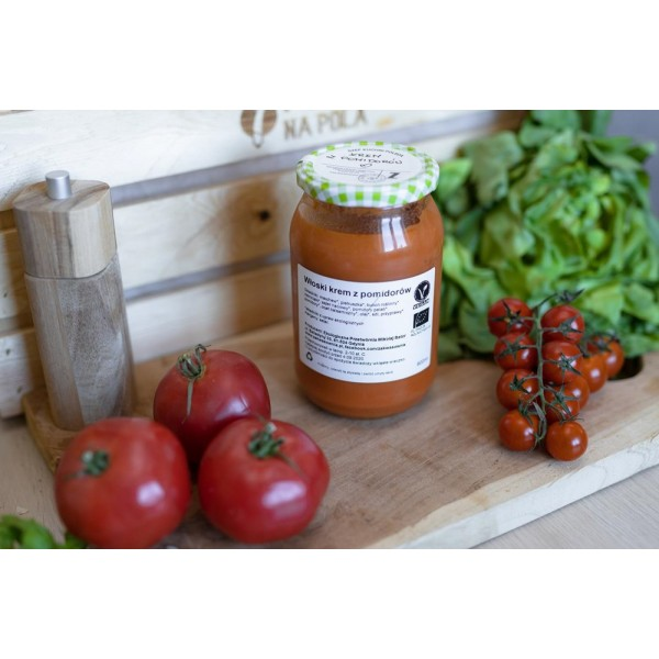 Włoski krem z pomidorów EKO
