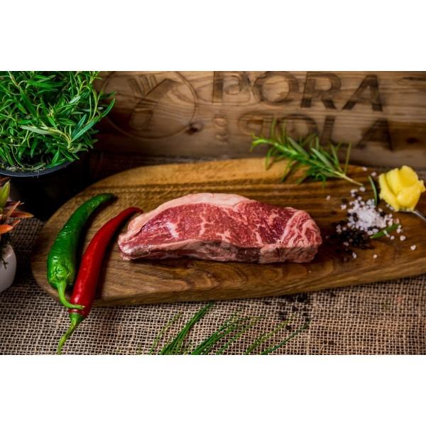 Stek rostbef New York Steak sezonowany na mokro