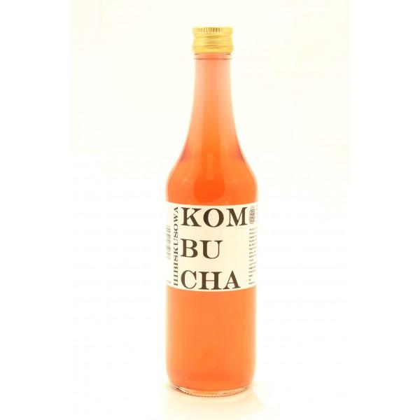 Kombucha hibiskusowa, herbata BIO