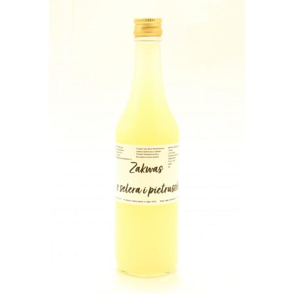 Zakwas selerowo-pietruszkowy, butelka