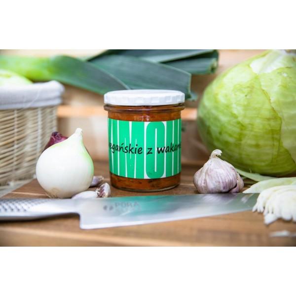 Kimchi z wakame