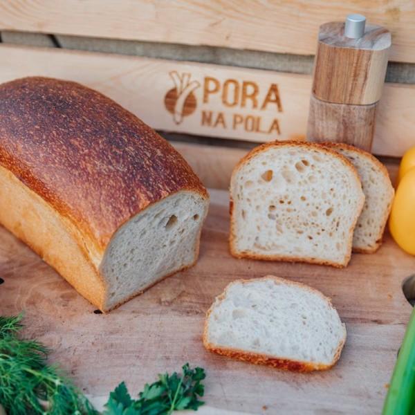 Chleb tostowy na zakwasie