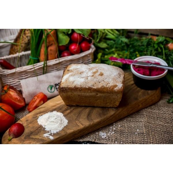 Chleb pszenny z kaszą jaglaną od Pani Teresy