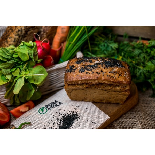 Chleb żytni z czarnuszką i solą od Pani Teresy