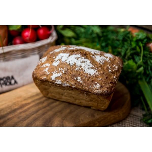 Chleb żytni z prażoną kaszą gryczaną od Pani Teresy