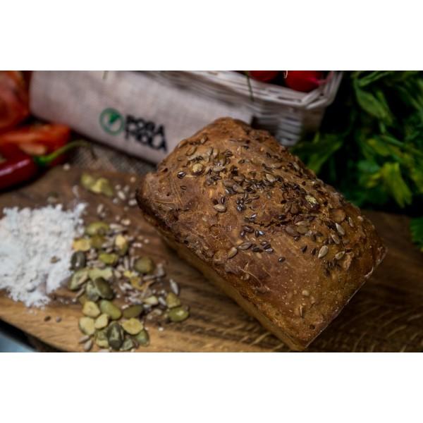 Chleb żytni cztery ziarna od Pani Teresy