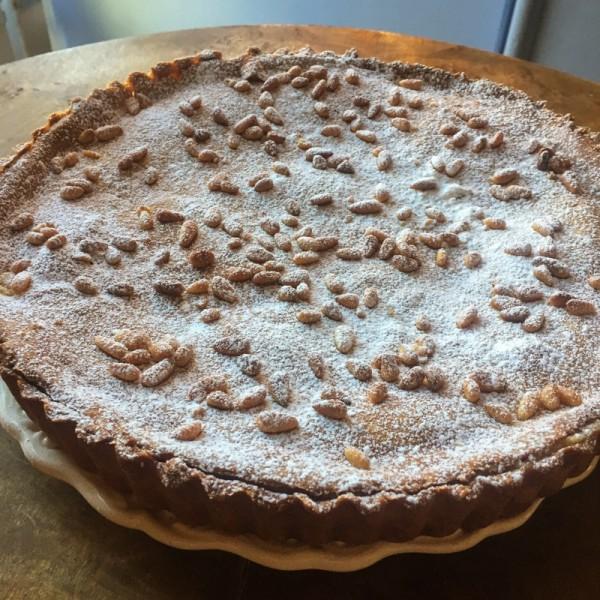 Torta della Nonna (ciasto babci)