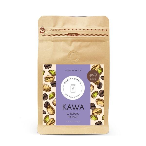 Kawa o smaku pistacji ziarnista