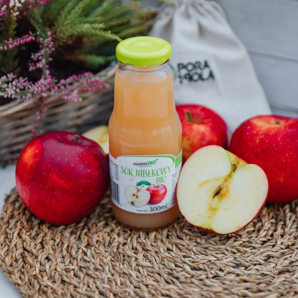 100% sok jabłkowy ligol EKO