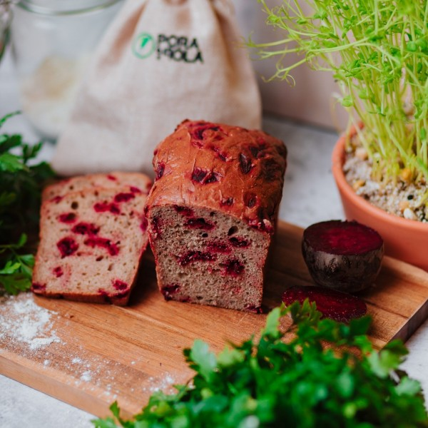Chleb farmerski z burakiem od Pani Teresy