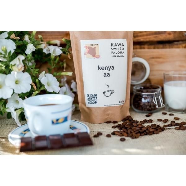 Kawa świeżo palona Kenya AA, ziarnista