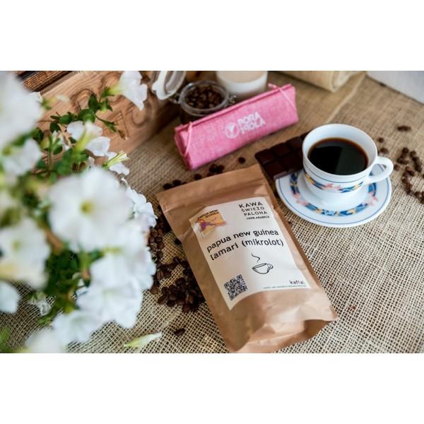 Kawa świeżo palona Papua New Guinea Lamari, ziarnista