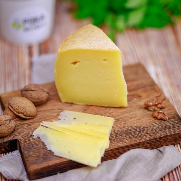 Ser z mleka krowiego i koziego, długodojrzewający EKO