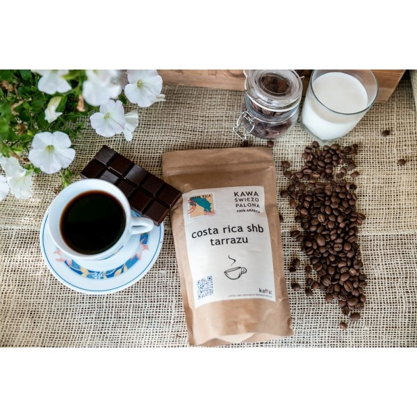 Kawa świeżo palona Costa Rica SHB, ziarnista