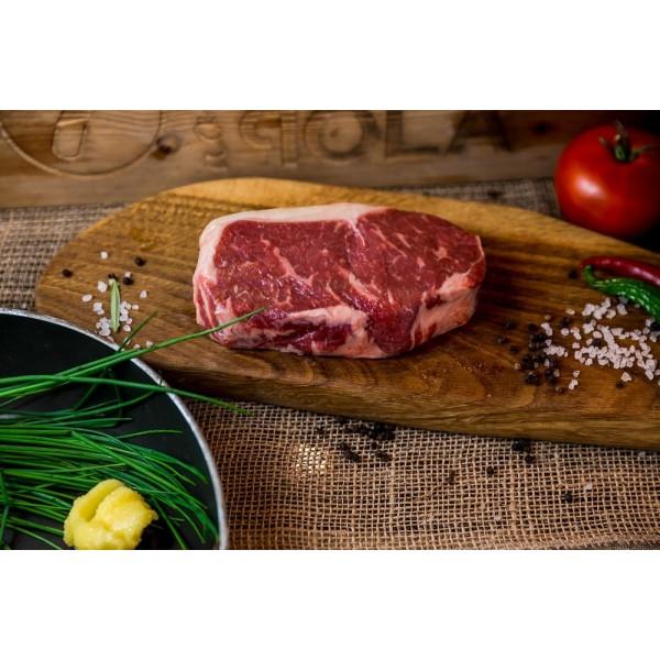 Stek rostbef New York Steak sezonowany na sucho