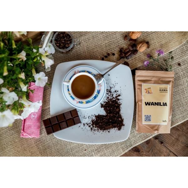 Kawa smakowa mielona waniliowa