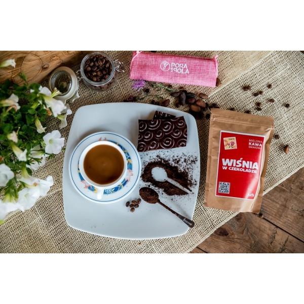 Kawa mielona smakowa Wiśnia