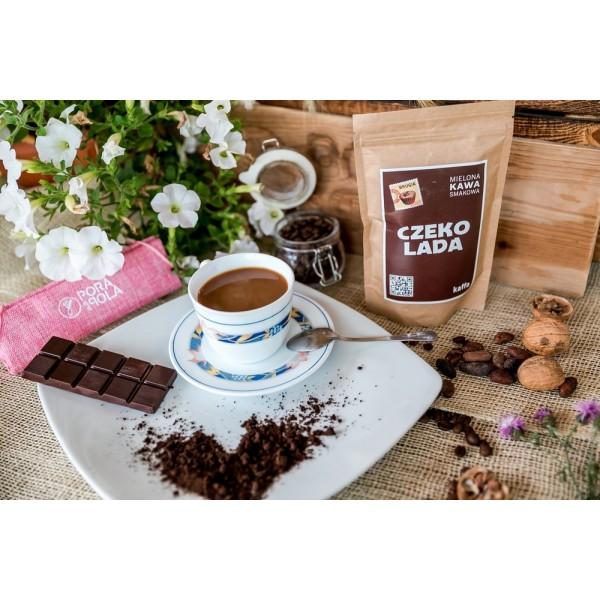 Kawa mielona o smaku czekoladowym