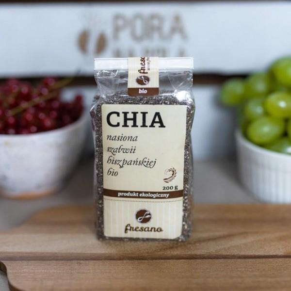 CHIA - nasiona szałwii hiszpańskiej EKO