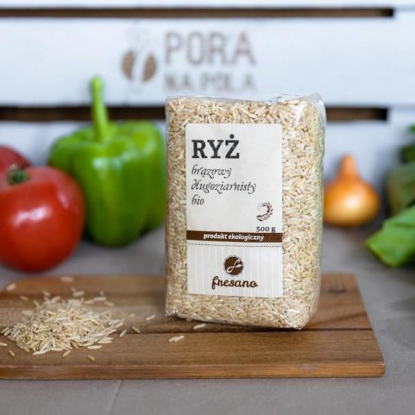 Ryż brązowy długoziarnisty EKO