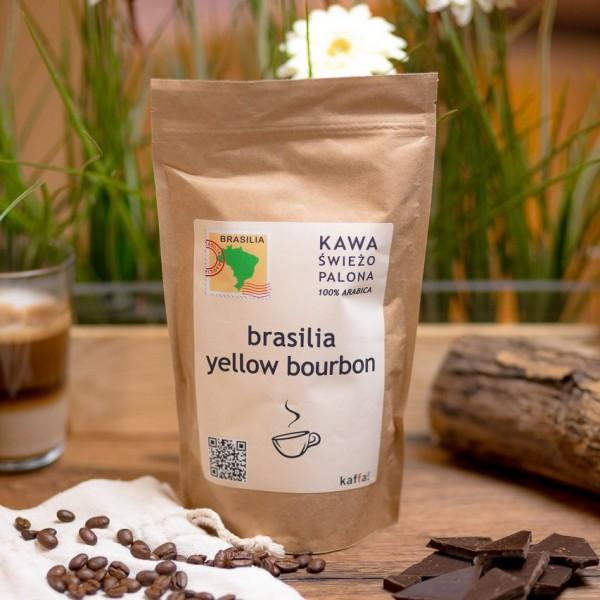 Kawa świeżo palona Brazylia Yellow Bourbon, ziarnista