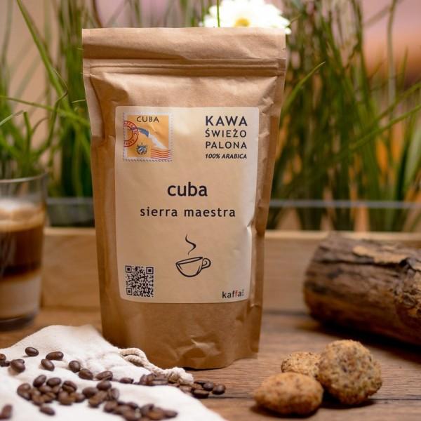 Kawa świeżo palona Cuba Sierra Maestra, ziarnista