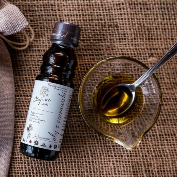 Olej z czarnuszki tłoczony na zimno