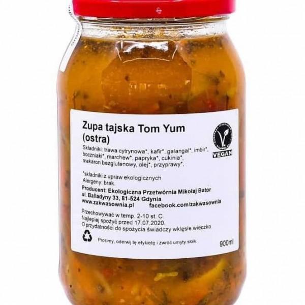 Ostra zupa tajska Tom-Yum EKO