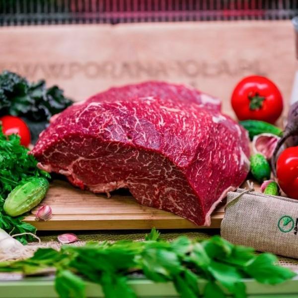 Wołowina sezonowana górna zrazowa na pieczeń lub zrazy