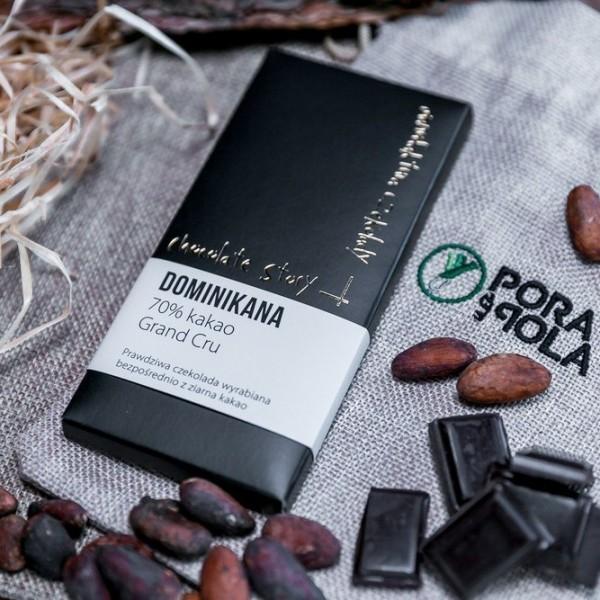 Czekolada Grand Cru 70% kakao z ziarna z Dominikany