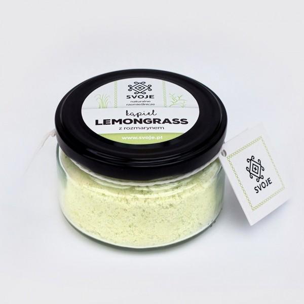 Kąpiel Lemongrass z rozmarynem