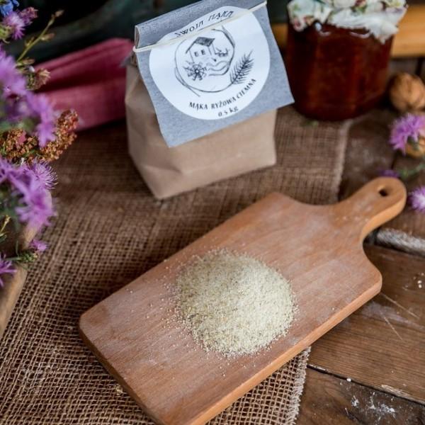Mąka z ryżu brązowego