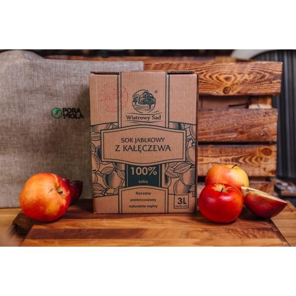 Sok tłoczony jabłkowy EKO
