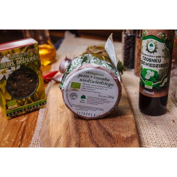 Pesto z czosnku niedźwiedziego EKO