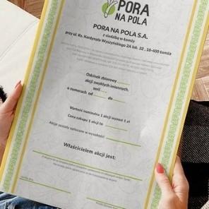 Złożenie wniosków o wydanie duplikatów dokumentów akcji