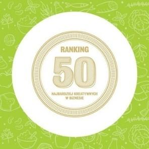 Adrian Piwko laureatem w Rankingu 50 Najbardziej Kreatywnych Ludzi w Biznesie